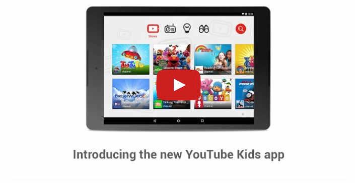 Google lancia Youtube Kids