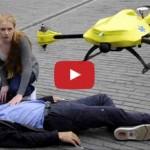 Il drone ambulanza che salva le vite