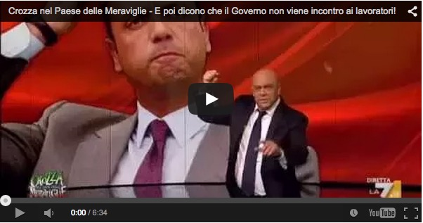 Renzi dà, Renzi toglie