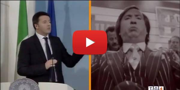 Renzi e Cetto La Qualunque
