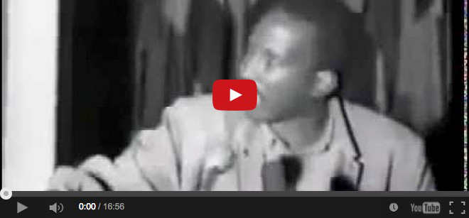 Thomas Sankara ucciso per questo discorso